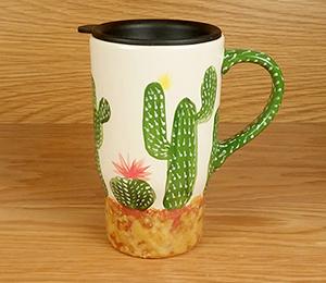 Torrance Cactus Travel Mug