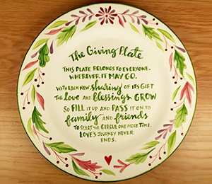 Torrance The Giving Plate