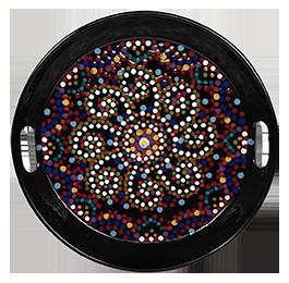 Torrance Mosaic Mandala Tray