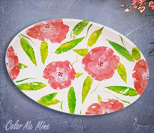 Torrance Floral Paper Stamping