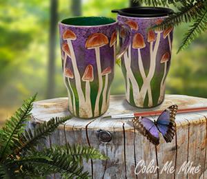 Torrance Mushroom Mugs