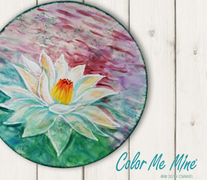 Torrance Lotus Flower Plate