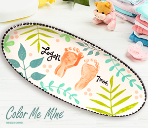 Torrance Tropical Baby Tray