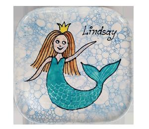 Torrance Mermaid Plate