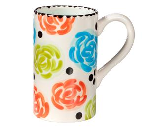 Torrance Simple Floral Mug